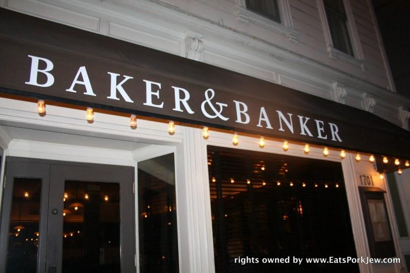 Baker & Banker storefront
