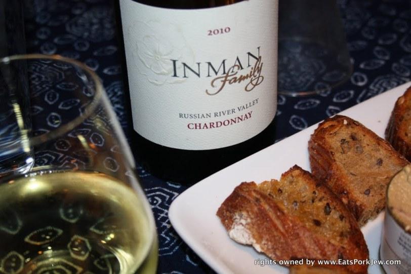 Inman Chardonnay, Sonoma CA