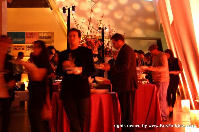 Jews charging the buffet #2
