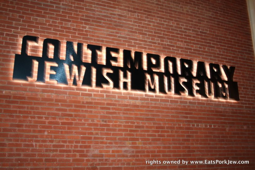 Contemporary Jewish Museum sign
