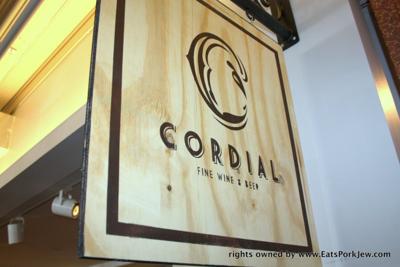 Cordial wine & beer shop at DC's Union Market