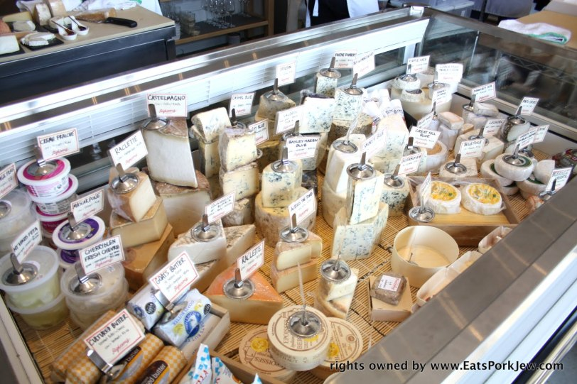 amazing selection of cheeses at Righteous Cheese at DC's Union Market #2