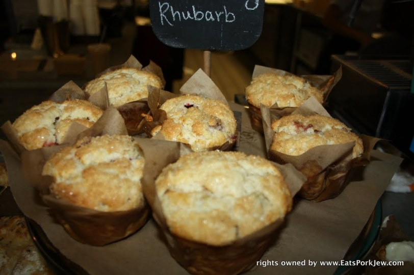 Strawberry rhubarb biscuits from big bottom market in Guerneville, CA