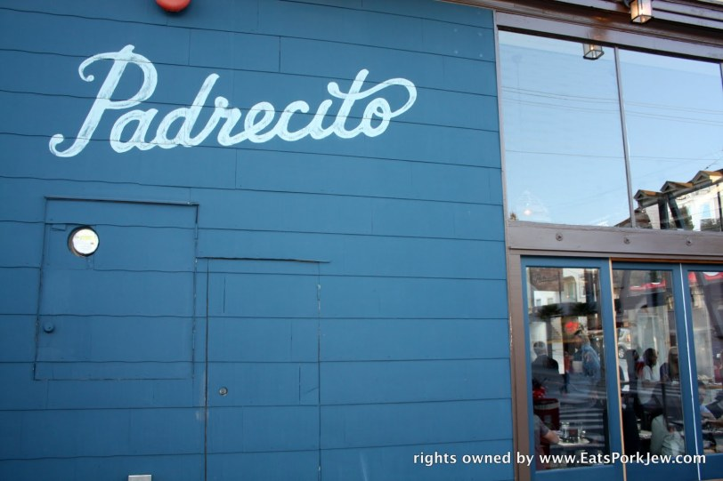 Padrecito restaurant in San Francisco's Cole Valley