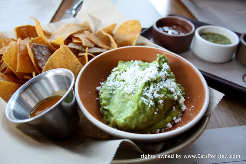 Guacamole and chips from Padrecito in Cole Valley San Francisco