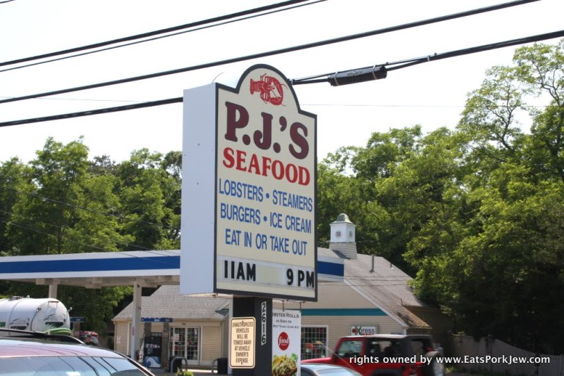 PJ's Family Restaurant in Wellfleet, MA on Cape Cod US 6