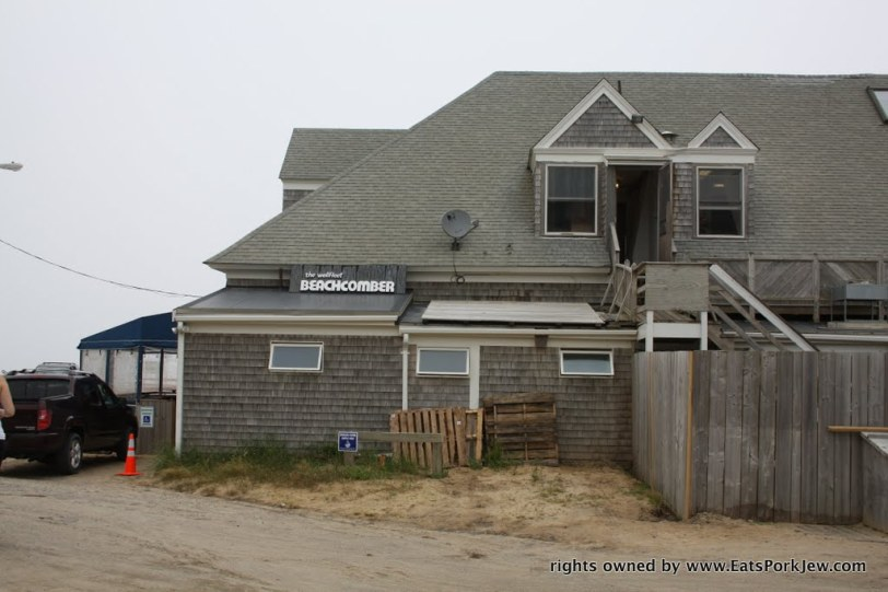 The Beachcomber restaurant in Wellfleet, MA on Cape Cod