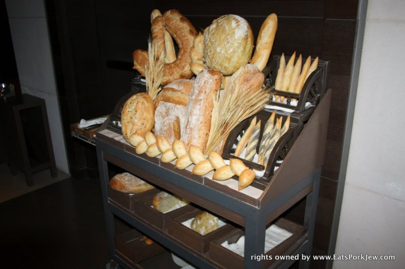 Guy Savoy's bread cart