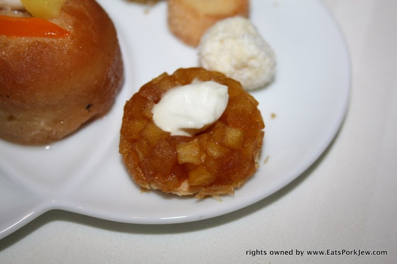 apple tart tatin from Guy Savoy