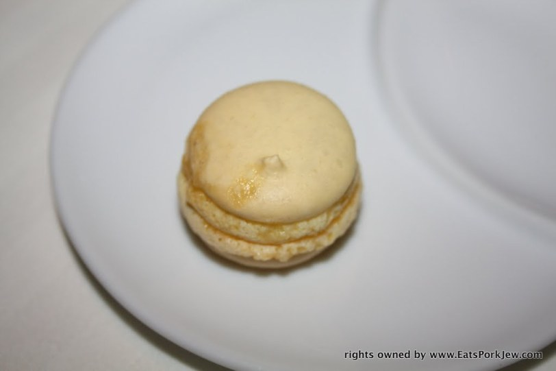 A Guy Savoy French style macaroon