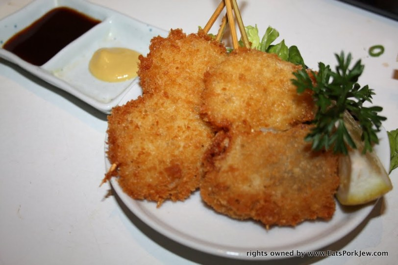food photography-fried scallops with mustard from Halu