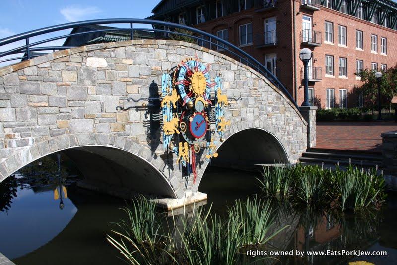 food blog- bridge in Frederick Maryland