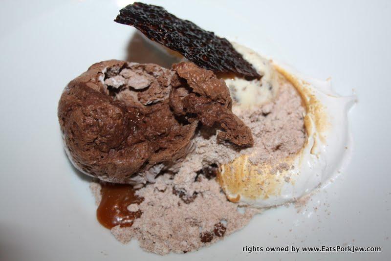foodporn- chocolate dessert at Volt