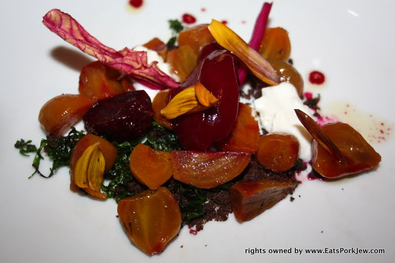 food photos- beets at Volt