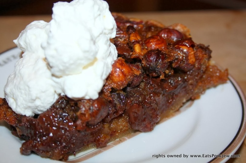 Mexican Chocolate Maple Bulleit Bourbon Hazelnut Pecan Pie with ...