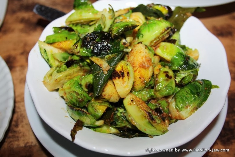the-best-food-blog-ginger-butter-brussels-sprouts