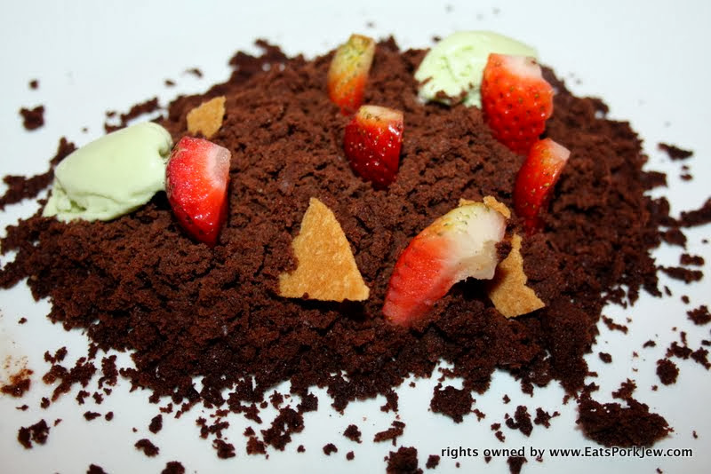 food-photos-flourless-deconstructed-chocolate-cake-Panama-City